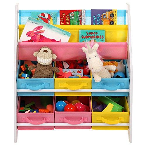 Zoom IMG-1 songmics scaffale per giocattoli mobiletto