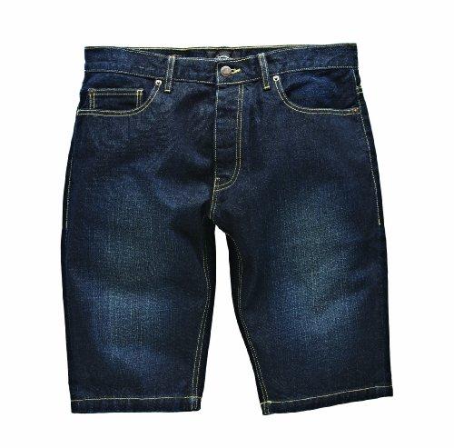 Dickies Herren Sport Shorts Streetwear Male Shorts Michigan Blau (Vintage Wash VNT)
