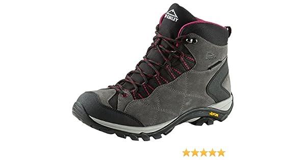 McKINLEY Damen Trekkingstiefel Discover Mid AQX Trekking-& Wanderstiefel, Grau (Anthrazit/Hellgrau 000), 42 EU
