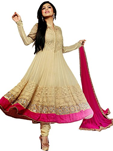 STYLE AMAZE Women\'s Cotton Semi-stitched Dress Material with dupatta