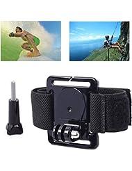 XCSOURCE® Wasserdicht Einstellbare Fall Elastische Klett Arm Strap Belt Mount Brustgurt für GoPro HERO 2 3 3 + 4 SJ4000 SJ5000 OS30