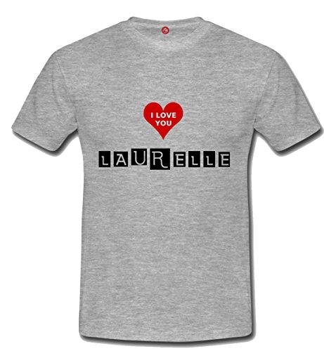 T-shirt Laurelle grigia