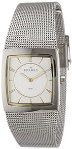 Reloj de mujer Skagen Slimline 563XSGSC de cuarzo, correa de acero inoxidable color plata de Skagen