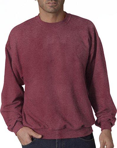 Hockey Symbol auf American Apparel Fine Jersey Shirt Rouge - Vintage Heather Red