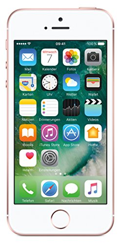 Apple iPhone SE ( (10,2 cm (4 Zoll) Touch-Display, 16 GB, iOS 10) Roségold