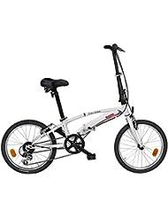 Bugno Bicicleta Plegable Blanco