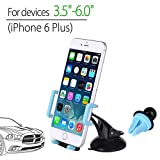 Avantree 3 in 1 Universal Car Phone Holder. Ideal for Dashboard, Windshield, and Air Vent