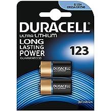 Duracell 123 - Pila especial para cámaras fotográficas, 1 paquete con 2 unidades