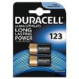 Duracell Ultra 123 BG2 Lithium 3V Nicht wiederaufladbare Batterie, 020320