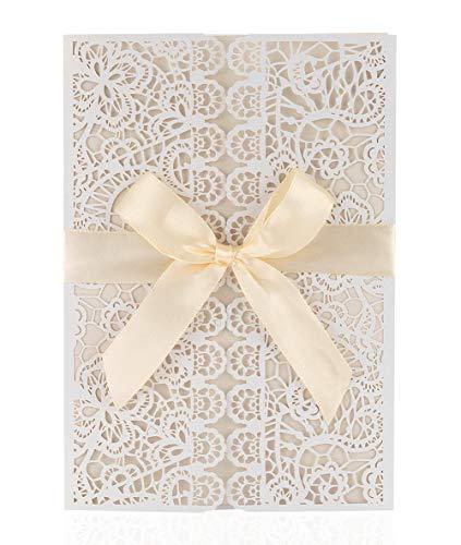 20x Boda Novia ducha tarjetas de invitación dikete® DIY floral ...