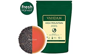 High Mountain Oolong Tea Leaves from Himalayas (50 Cups), OOLONG TEA FOR WEIGHT LOSS, 100% Natural Detox Tea, Weight Loss Tea, Slimming Tea - Brew Hot Tea, Iced Tea, Kombucha Tea - 100gm