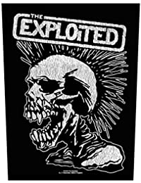 The Exploited Vintage Skull Rückenaufnäher