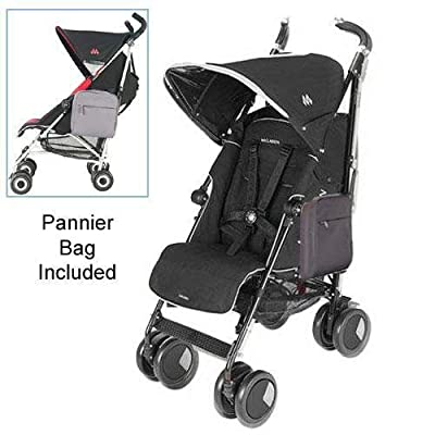 Maclaren Techno XT Stroller Pannier Bag in Black by Maclaren