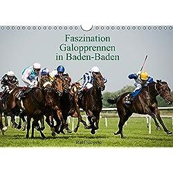 Faszination Galopprennen in Baden-Baden (Wandkalender 2019 DIN A4 quer): Galoppsport in Iffezheim, Baden-Baden (Monatskalender, 14 Seiten ) (CALVENDO Sport)