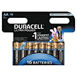 Duracell - Ultra Power - 16 Piles Alcalines type AA (LR6)