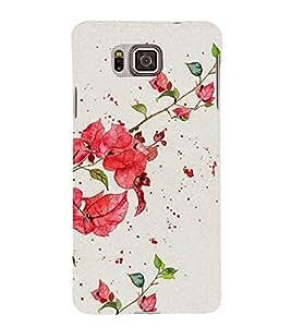 Beautiful Flowers 3D Hard Polycarbonate Designer Back Case Cover for Samsung Galaxy Alpha :: Samsung Galaxy Alpha S801 :: Samsung Galaxy Alpha G850F G850T G850M G850FQ G850Y G850A G850W G8508S :: Samsung Galaxy Alfa