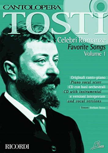 Cantolopera: Celebri Romanze Vol. 1 Chant +CD