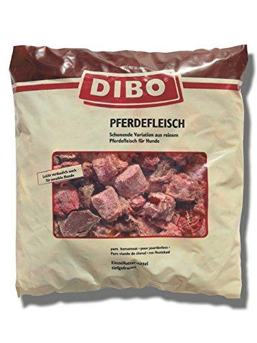 """Fleisch """"Pferd"""", 6 x 1.000g-Beutel, Tiefkühlfutter, gesunde, natürliche Ernährung für Hunde, Hundefutter, BARF, B.A.R.F."""