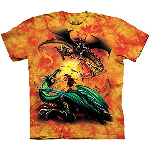 """The Mountain Kinder T-Shirt """"The Duel"""" Rot"""
