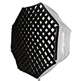 #6: Godox Portable 80cm/32 Only Grid Umbrella Photo Softbox Reflector for Flash Speedlight (Grid Only)