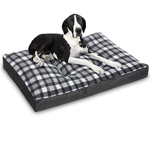 WOLTU® Hundebett Hundekissen Hundematte Schlafplatz Katzenbett Oxford Hundesofa Tierbett Schwarz HT2104sz3