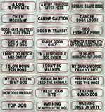 eCobbler Schild Hund Anzeichen für Hunde - 17 cm X 4 cm große Auswahl, hundgerechte Home