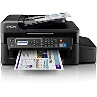 Epson EcoTank ET-4500 A4 Print/Scan/Copy/Fax Wi-Fi Printer, Black