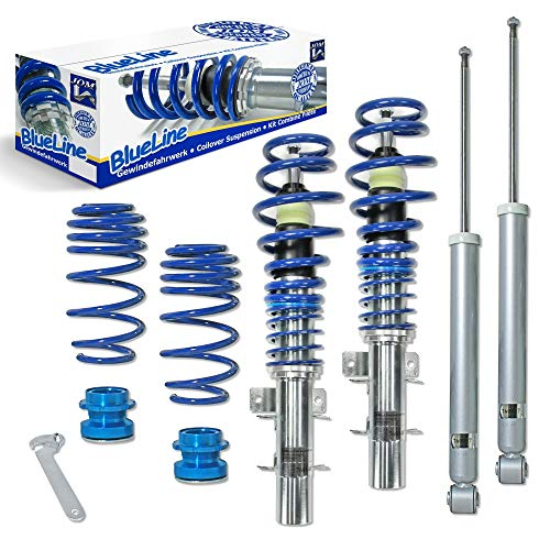 JOM Kit suspension combiné fileté BlueLine Seat Ibiza / Cordoba 6L 1.2/ 1.4/ 1.9 SDi / 1.9 TDi ,...