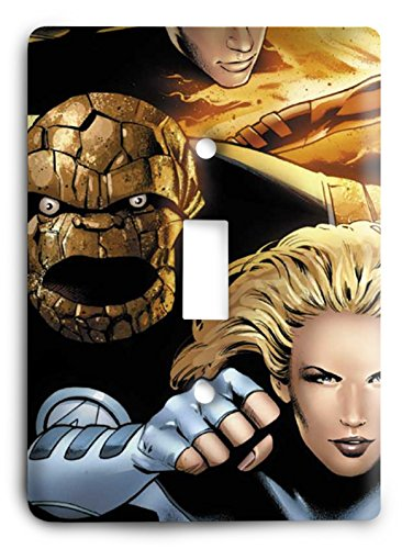 Ultimate Fantastic Four The Ultimate Crossover Light Couvercle pour interrupteur
