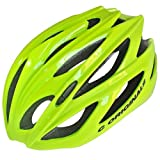 Casco para bicicleta modelo C380 de C Originals, disponible en 6 colores, ultra ligero (210 g); casco de seguridad con certificado CE, HI VIS YELLOW