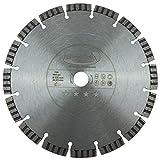PRODIAMANT Premium Diamant-Trennscheibe Beton Laser 230 mm x 22,2 mm Diamanttrennscheibe PDX821.711 230mm passend Winkelschleifer
