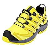 Salomonxa pro 3d cswp - scarpe da trail running - corona yellow/alpha yellow/dark cloud