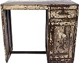 Guru-Shop Antiker Vintage Schreibtisch mit Patina, 1 Schublade, Ablagefächern, 78x91,5x45,5 cm, Schreibtische & Schreibpulte