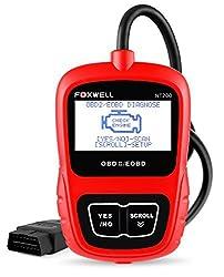 FOXWELL OBD2 Diagnosegerät Scanner OBDII/EOBD Code Fahrzeug Auto Werkzeug Auto Motor Fehler Code Reader (Foxwell NT200)