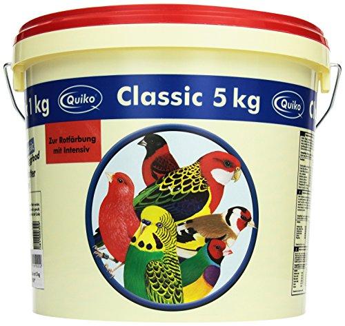 Quiko Classic R - Rotes Eifutter, Kraft- und Aufzuchtfutter für alle rotgrundigen Vogelarten, 1er Pack (1 x 5 kg)