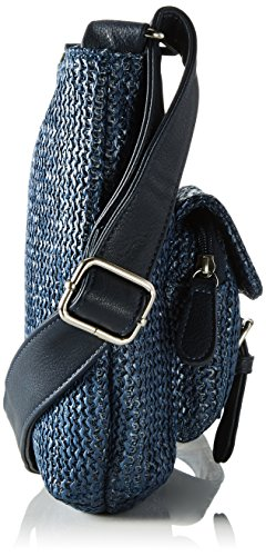 Betty Barclay Donna Borsa A Tracolla Bb-1183-ce, 6x22x22 Cm Blu (mirtillo)