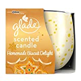 Glade Homemade Biscuit Delight Candle, 120 g, Pack - Best Reviews Guide