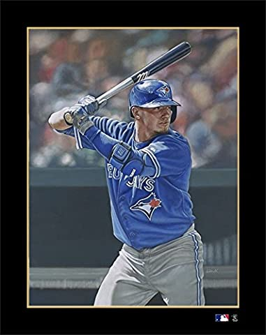 MLB Toronto Blue Jays Josh Donaldson Victory Fine Art Print on Paper, 19