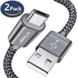 Micro USB Kabel Android [2M 2 Pack]