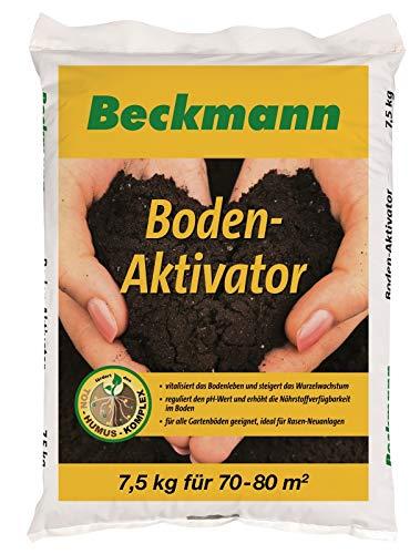Beckmann Boden Aktivator 7,5 kg für ca. 70-80 m² Bodenverbesserer + Gratiszugabe 20g Kressesamen Sprint