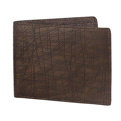 Walrus Brown Men's Wallet (WW-HRT-09)