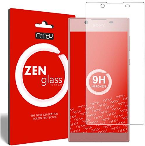 nandu I ZenGlass Flexible Glas-Folie für Sony Xperia L1 Panzerfolie I Bildschirm-Schutzfolie 9H