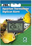 JBL 6122100 Aquarium Thermometer DigiScan Alarm, grau
