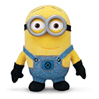 Dave the Minion leaps off the screen in Plush Buddy form! Based on the popular character from Despicable Me 2, Dave's made of soft, huggable material for snuggling up to. This highly detailed soft toy is 14cm tall and ideal for kids aged four...