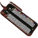 fablcrew estuche con bolsa portátil multifunción estuche enrollable dibujo herramienta para arte de suministro large 36 Slots
