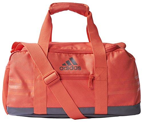 Adidas 3S PER TB Sporttasche, Unisex Erwachsene Easy Coral/Trace Grey
