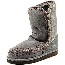 MDA Eskimo Boot de conejitos© marrage 24 cm, hierro/Dark Brown, color Gris con diseño de Stitch