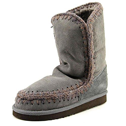 MDA Eskimo Boot de conejitos© marrage 24 cm, hierro/Dark Brown, color Gris con diseño de Stitch, Gris (Iron), 41 EU