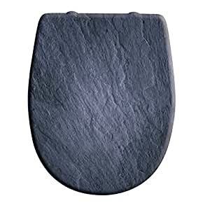 OLFA - Abattant WC - Abattant wc Olfa Ariane Ardoise - descente manuelle