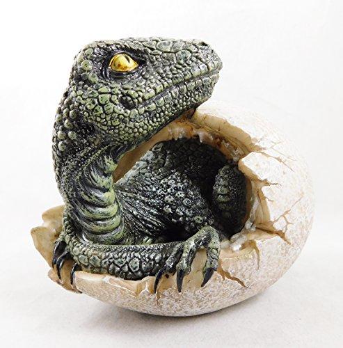 aptors Dawn Dinosaurier Schraffur Drachen Ei Jurassic T-Rex Figur Statue | 3900 ()